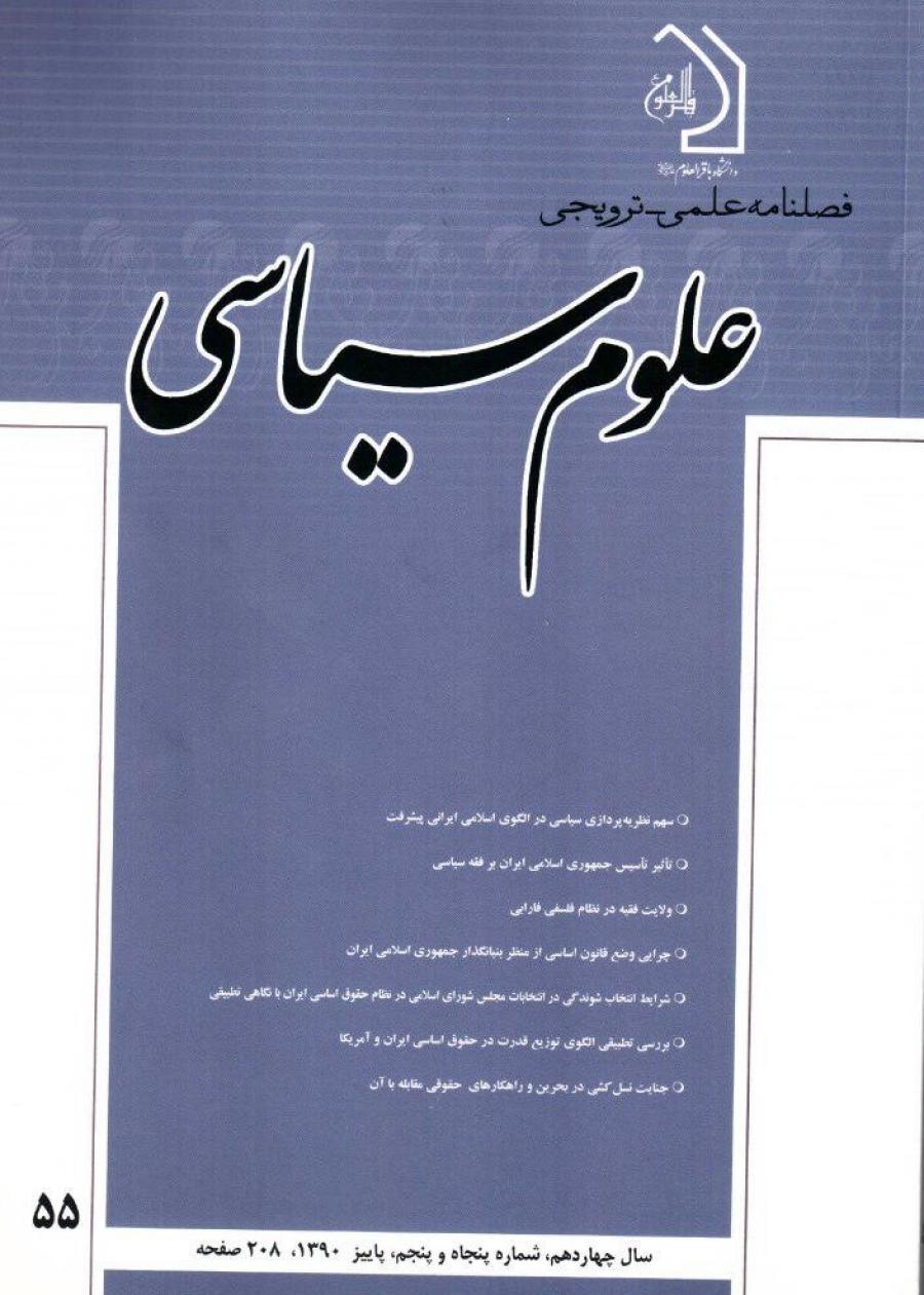شرایط انتخاب شوندگی در انتخابات مجلس شورای اسلامی در نظام حقوق اساسی ایران با نگاهی تطبیقی